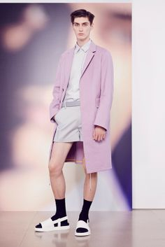 Pastels, minimalism and boyband baggy at Jil Sander SS15, Milan menswear. More images here: http://www.dazeddigital.com/fashion/article/20424/1/jil-sander-ss15