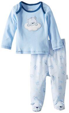 Amazon.com: Vitamins Baby-Boys Newborn Sleepytime Bear Pajama Set: Clothing $7.67