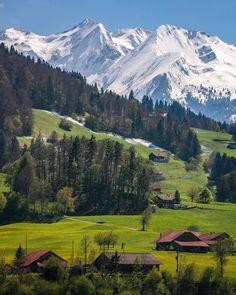 Summer VS Winter ❄️ #Switzerland_Vacations