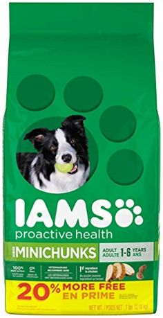 IAMS PROACTIVE HEALTH Adult MiniChunks Dry Dog Food 57 Pounds ** Find out more about the great product at the image link.-It is an affiliate link to Amazon.