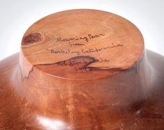 Bob Stocksdale pear bowl