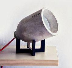 nice concrete lamp