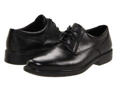 Bostonian - Wendell (Black Smooth Leather) Men's Lace up casual Shoes