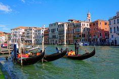 Grand Canal, Boat, Italy, Painting, Venice, Venice Italy, Dinghy, Italia, Painting Art