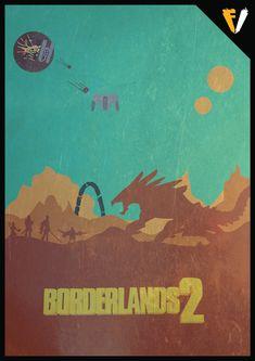 Borderlands 2 by FALLENV3GAS