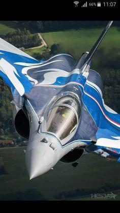 Dassault Rafale advanced tactical fighter.