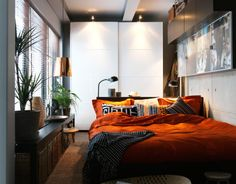 Small space bedroom decoration ideas
