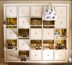 Shoe Display as seen in Cynthia Vincent's flagship boutique in Nolita (253 Elizabeth St.)