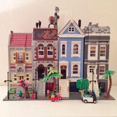 A lego street