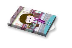Slečna #ilustration #ilustrace #ChewingGums #žvýkačky #CharityGums Charity, Fall, Cover, Books, Design, Autumn, Libros, Book, Book Illustrations
