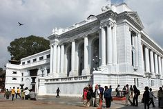 Royal Palace at Durbar Square in Kathmandu, Nepal