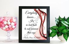 """Real Housewives Printable Quote Art Phaedra Parks """"Everybody knows it's"""" Printable Art, Quote Print, Printable Life Quote, Art Poster Gifts"""