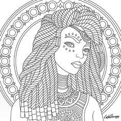 Coloring Pages for Adults Women - Coloring Pages for Adults Women , Adult Coloring Page Blank Coloring Pages, Free Adult Coloring Pages, Disney Coloring Pages, Free Coloring, Coloring Books, Painting Patterns, Fabric Painting, African Art Projects, Black Art Painting