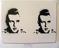 Joe Strummer, Anthony C and Karen M at The Philadelphia Sketch Club