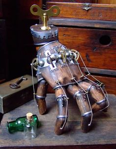 The Thing Brought back to life in Steampunk Fashion