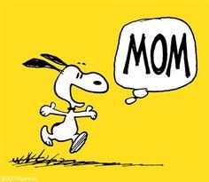 #Snoopy #Peanuts #MothersDay #Mom