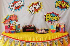 fiesta tematica de ironman - Buscar con Google