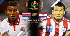 Costa Rica vs. Paraguay Copa America 2016 Preview and Prediction and live streaming info #CostaRicavsParaguay #copaamerica #soccer #brazil #copaam #ca2016 Costa Rica vs. Paraguay Copa America 2016 Preview and Prediction and live streaming info - Copa...