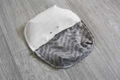 Lined Zippered Pouch / Makeup Bag  DIY Pattern & Tutorial.  Косметичка. МК.