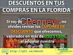 Si vas de viaje a la Florida no olvides adquirir nuestro eBook de Disney World que trae como bono cupones valorados por más de USD $1500 ==> http://g2l.us/ebook