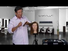 Point Cutting with a Razor | We point cut with shears all the time, so why not think out of the box and point cutting with a razor? It's a great way to loosen up blunt lines in a shape and add texture and separation immediately. http://www.samvilla.com/blog/2013/02/how-to-point-cut-with-a-razor-video/