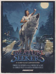 Progressive Insurance: Creature seekers   Ads of the World™