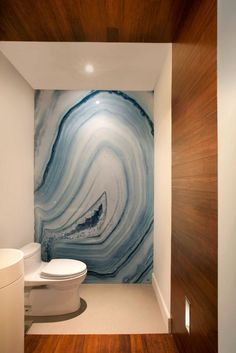Bathroom. Bathroom Feature Wall, Enliven Your Bathroom. Rock Cross-section Looks Bathroom Feature Wall Panel.