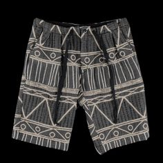 UNIONMADE - Monitaly - Drop Crotch Short in Black Multi