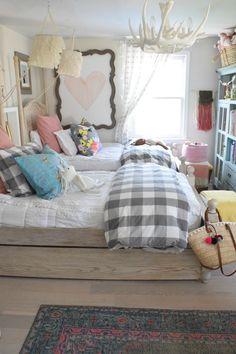 Vintage Bedroom Girls Bedroom- Shop The Girls Room - … Cute Girls Bedrooms, Teenage Girl Bedroom Designs, Girls Room Design, Cute Bedroom Ideas, Teenage Girl Bedrooms, Pretty Bedroom, Bedroom Girls, Kid Bedrooms, Shared Bedrooms