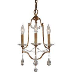 Valentina Oxidized Bronze Three Light Chandelier Murray Feiss Candles Without Shades Chand