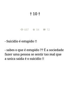 Suicídio   Depressão