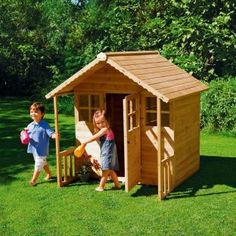 BARGAIN Chad Valley Wooden Playhouse was £149.99 NOW £74.99 at Argos - Gratisfaction UK