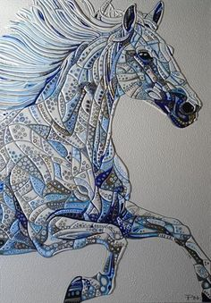 Abstract Horse 4 (Sculptural) by Paula Horsley | Artgallery.co.uk
