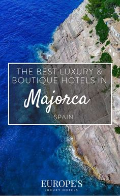 Looking for where to stay in Majorca? Here are out top recommendations on luxury and boutiques hotel in Majorca to help make your holiday as enjoyable as. Romantic Beach Getaways, Romantic Vacations, Romantic Travel, Beach Honeymoon Destinations, Romantic Destinations, Travel Destinations, Honeymoon Ideas, Spain Travel Guide, Europe Travel Tips