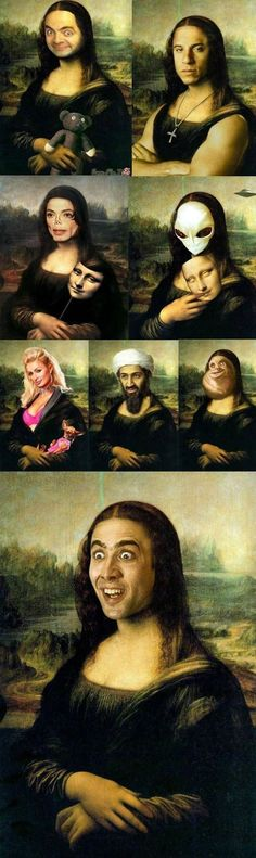 Mona Lisa - www.funny-pictures-blog.com