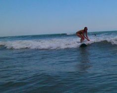 surfing in cocoa beach