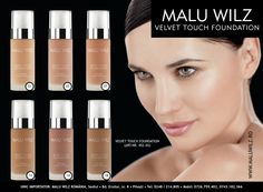 VELVET TOUCH FOUNDATION are available at MALU WILZ ROMANIA! MALU WILZ Products are manufactured in Germany! www.maluwilz.ro