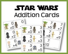 Free Star Wars Addition Printables