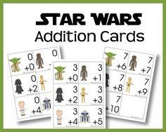 Free Star Wars Addition Printables