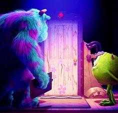 my favorite door! Monsters, Inc.