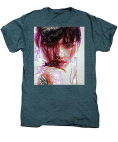 Men's Premium T-Shirt - Oriental Portrait