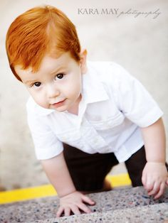 I have a strange fascination with red headed babies! Precious Children, Beautiful Children, Beautiful Babies, Ginger Kids, Ginger Babies, Beautiful Red Hair, Gorgeous Redhead, Cute Kids, Cute Babies