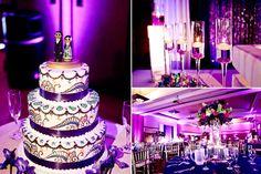love the cake design