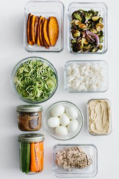 Meal prep and save time in the kitchen. Here are 9 ingredients to meal prep and several meal prep ideas for healthy recipes.
