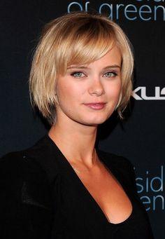 Short Bob Haircuts With Bangs For Fine Hair Sara Paxton Cute