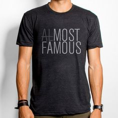 Almost Famous Tee now featured on Fab.