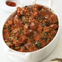 """Oyster Dressing """"Grand-Mère""""   25 Delicious Stuffing Recipes For Thanksgiving"""