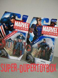 Cap & Bucky