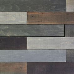 Deco Planks Old Forest Pewter 1/2 in. Thick x 4 in. Wide x 24 in. Length Solid Hardwood Wall Planks (10 sq. ft. / case)