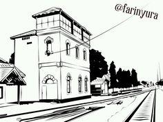"42 Likes, 3 Comments - Farin Wahyu Rachman (@farinyura) on Instagram: ""Classic ~ building ~ railway Anak kota mojokerto pasti tahu tempat ini haha . . . . #railway…"""